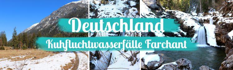 Wasserfälle in Bayern – Die Kuhfluchtwasserfälle