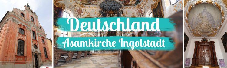 Deutschland - Bayern - Ingolstadt - Asamkirche Titelbild