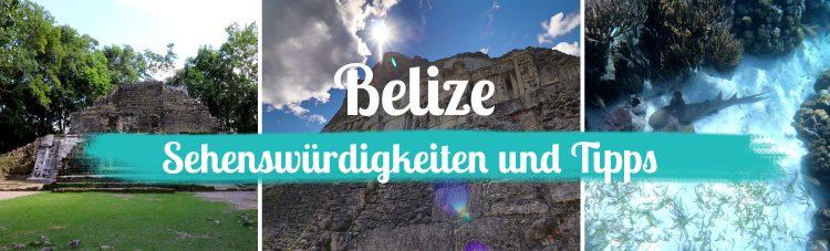 Belize - Sehenswürdigkeiten und Tipps - Titelbild