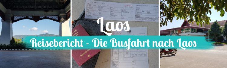 Laos • Mit dem Bus nach Luang Prabang – Reisebericht 2018