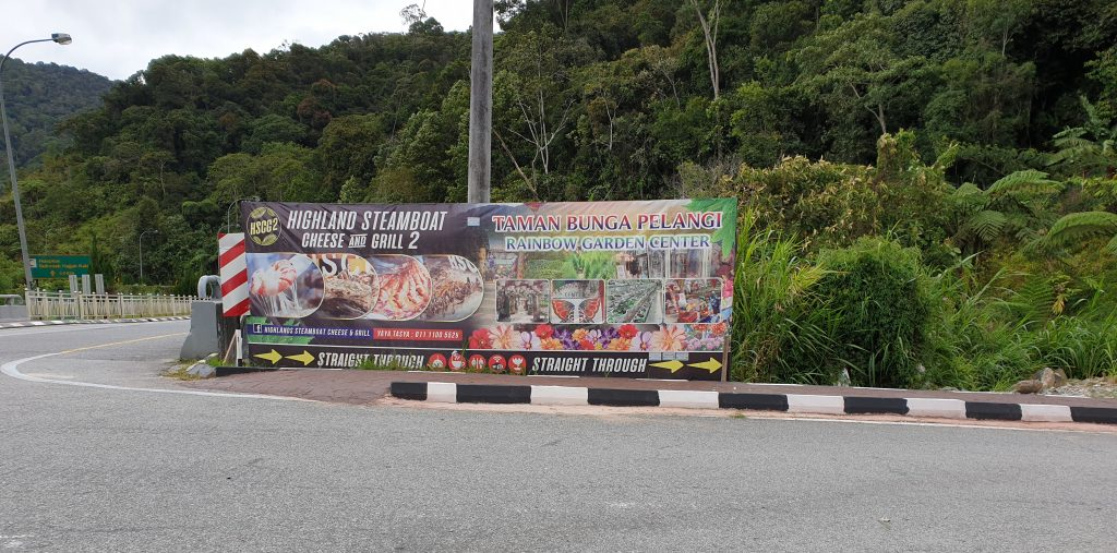 Malaysia - Cameron Highlands - Sehenswürdigkeiten - Robinson Waterfalls