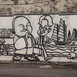 Malaysia - Penang - Sehenswürdigkeiten - Streetart