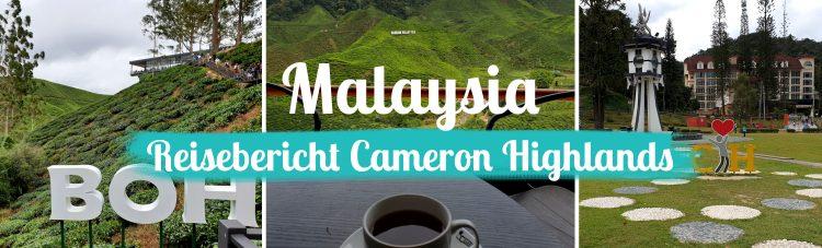 Malaysia - Cameron Highlands Reisebericht - Titelbild