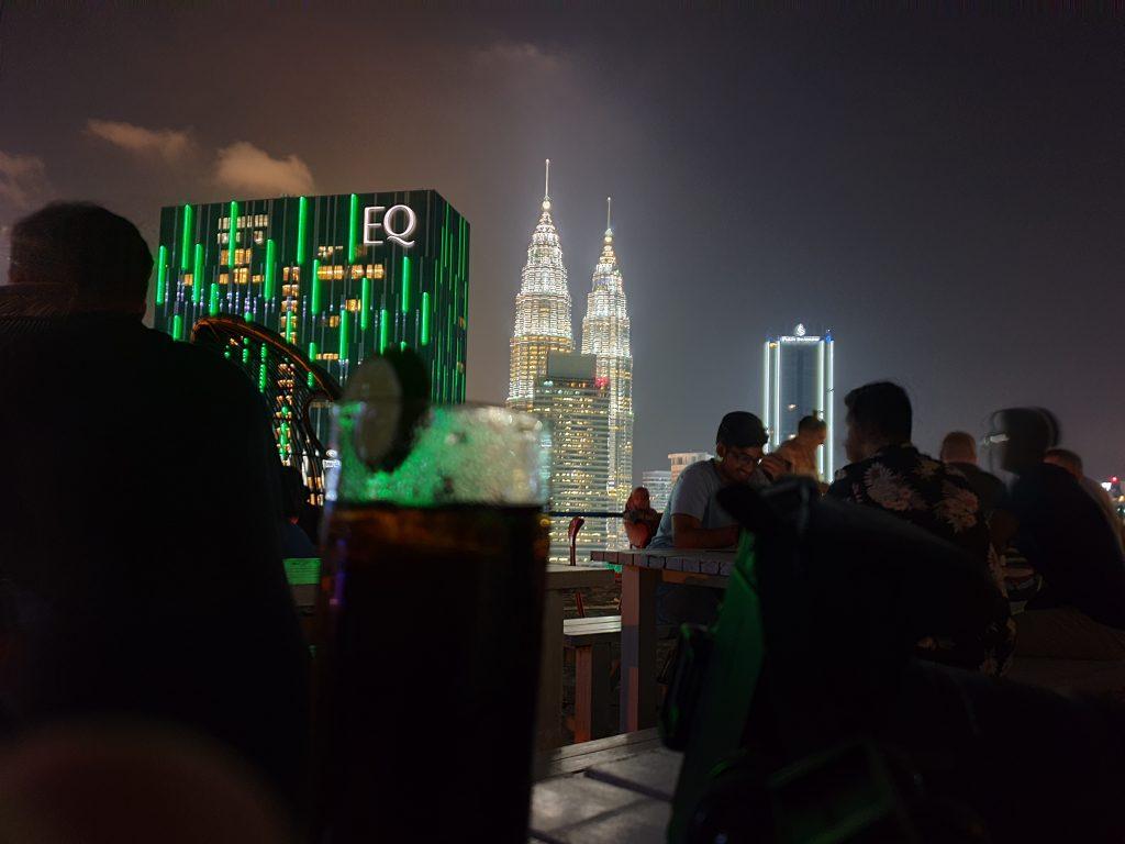 Malaysia - Kuala Lumpur - Sehenswürdigkeiten - Helipad Skybar