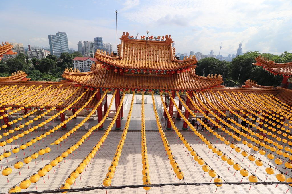 Malaysia - Kuala Lumpur - Sehenswürdigkeiten - Thean Hou Tempel