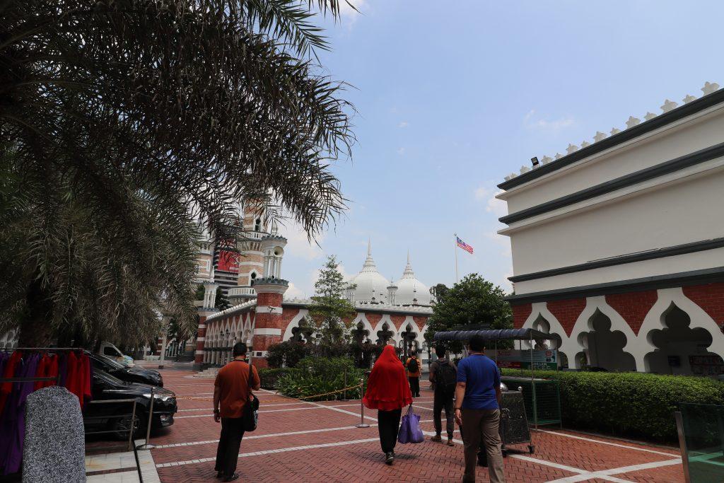 Malaysia - Kuala Lumpur - Sehenswürdigkeiten - Jamek Moschee
