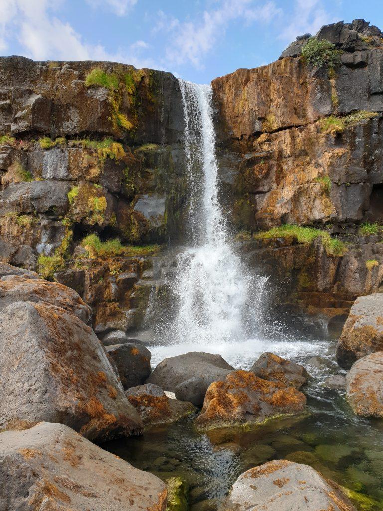 Island - Öxararfoss - Westisland - Wasserfall
