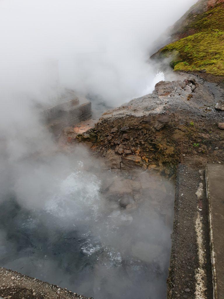 Island - Deildartunguhver - Westisland - Quellen