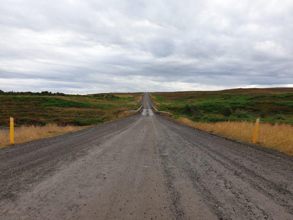 Island - Westisland - Schotterweg