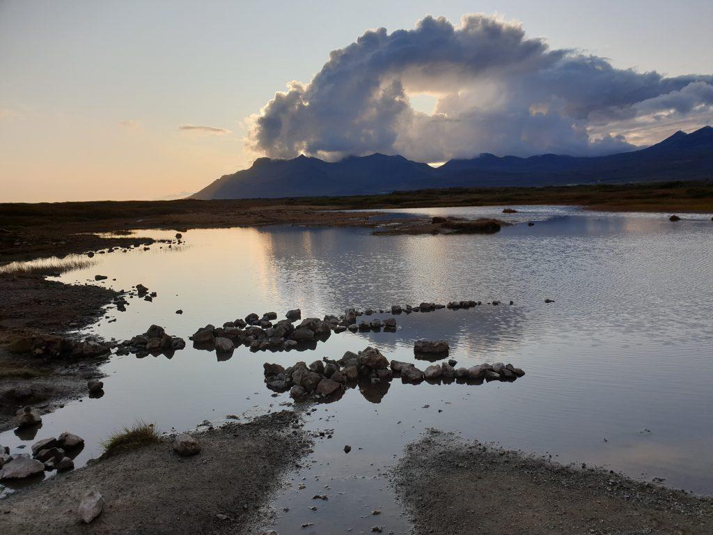 Island - Westisland - Quellen - Landbrotalaug