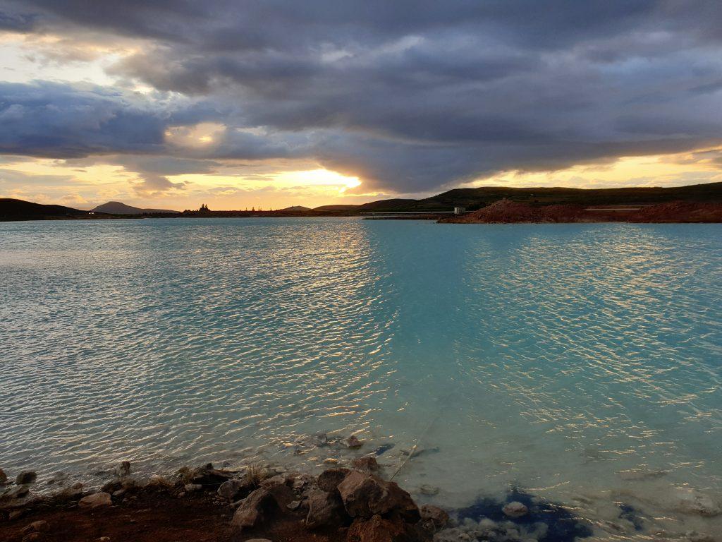Island - Nordsland - Reykjahlid See - heißer See