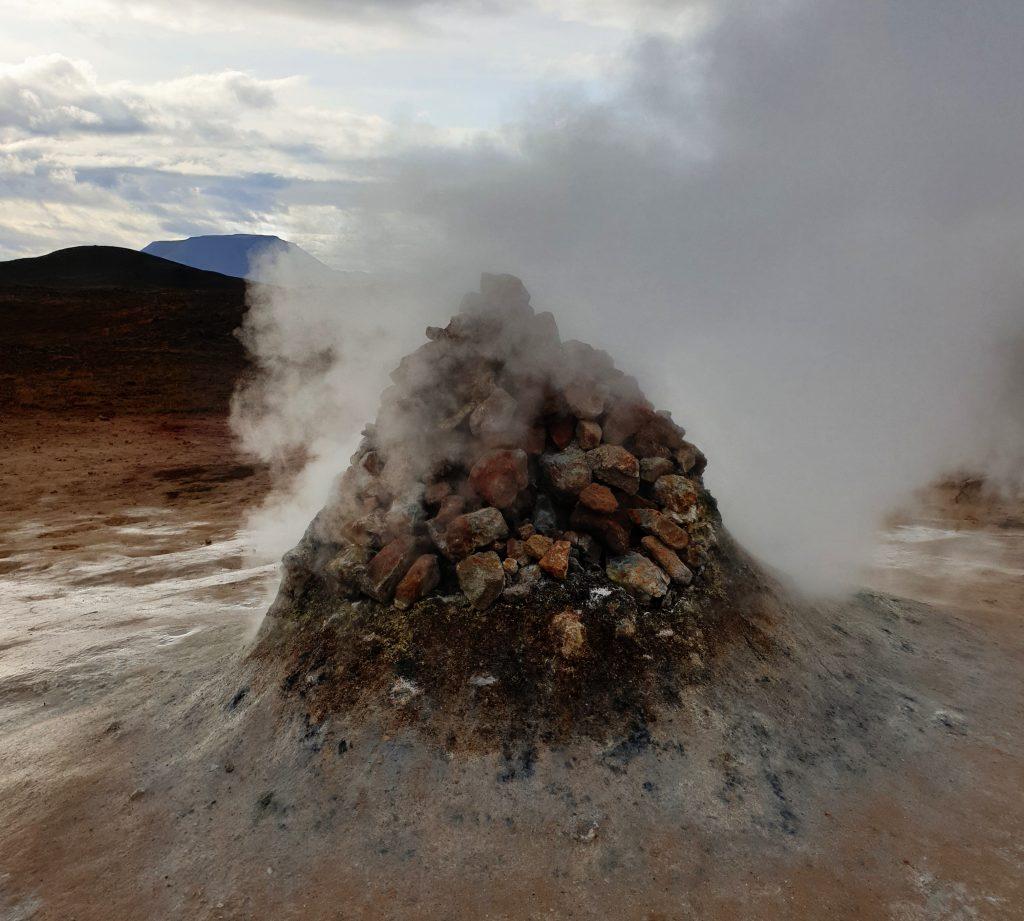 Island - Nordsland - Hverarönd - Heiße Quellen