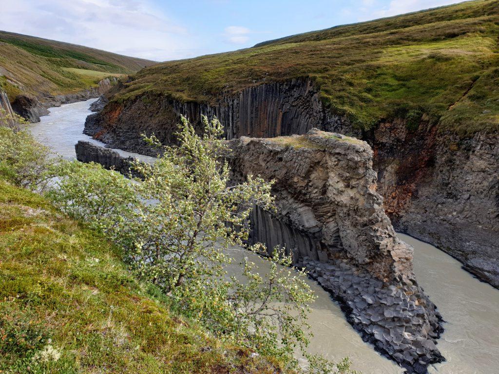 Island - Nordsland - Studlagil Canyon - Schlucht