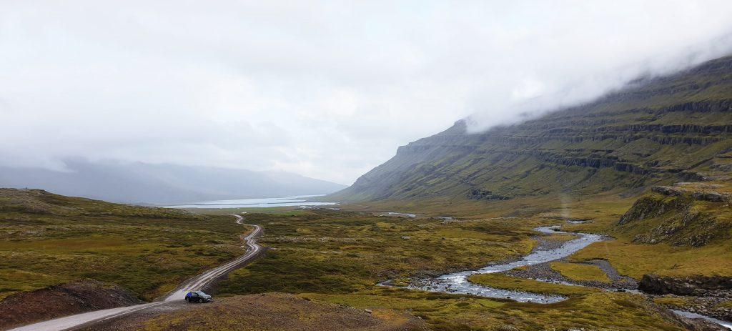 Island - Ostisland - Weg nach Fjadabyggd