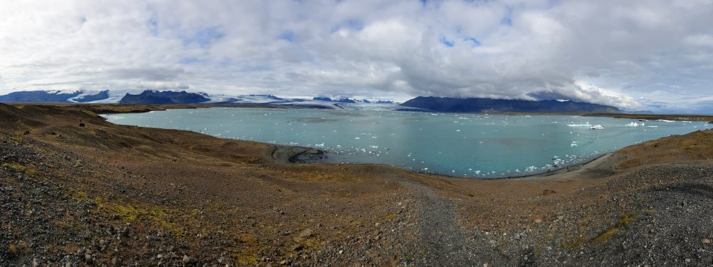 Island - Westisland - Diamond Beach Glacier - Diamantenstrand Gletscher