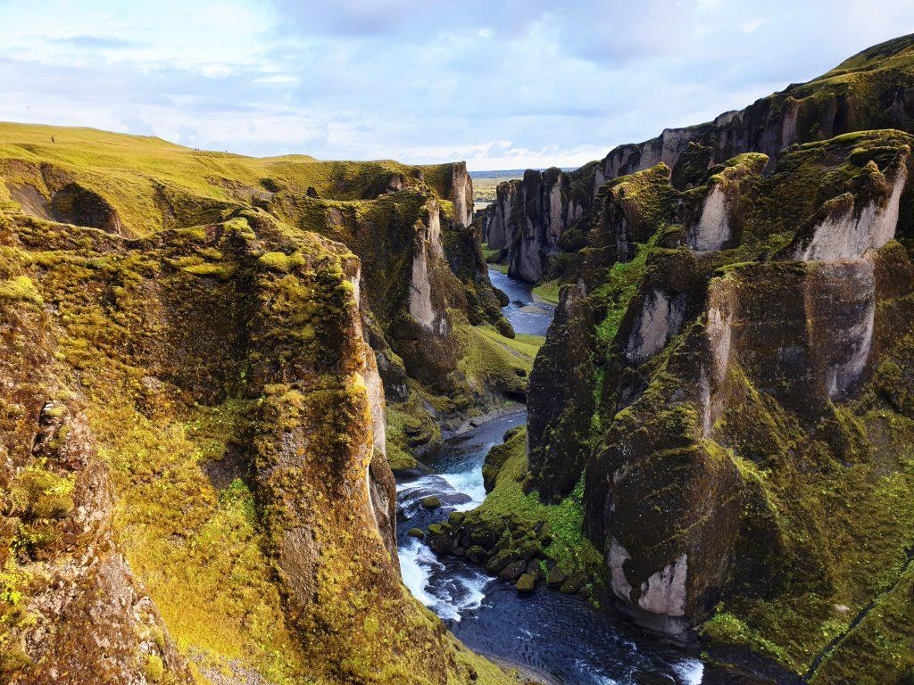 Island - Westisland - Fjadrargljufur - Schlucht - Canyon