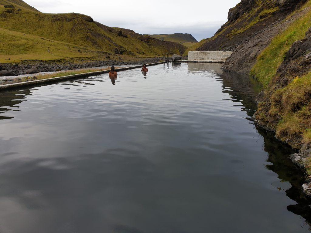 Island - Westisland - Seljavallalaug - Heiße Quelle
