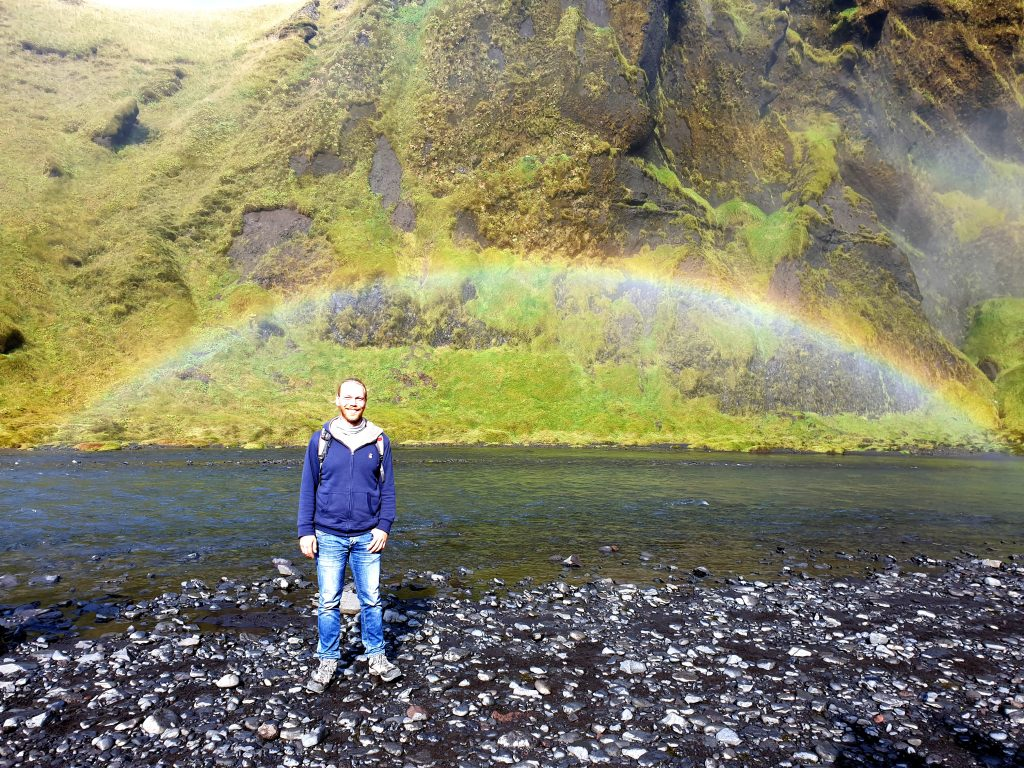 Island - Westisland - Skogafoss - Wasserfall