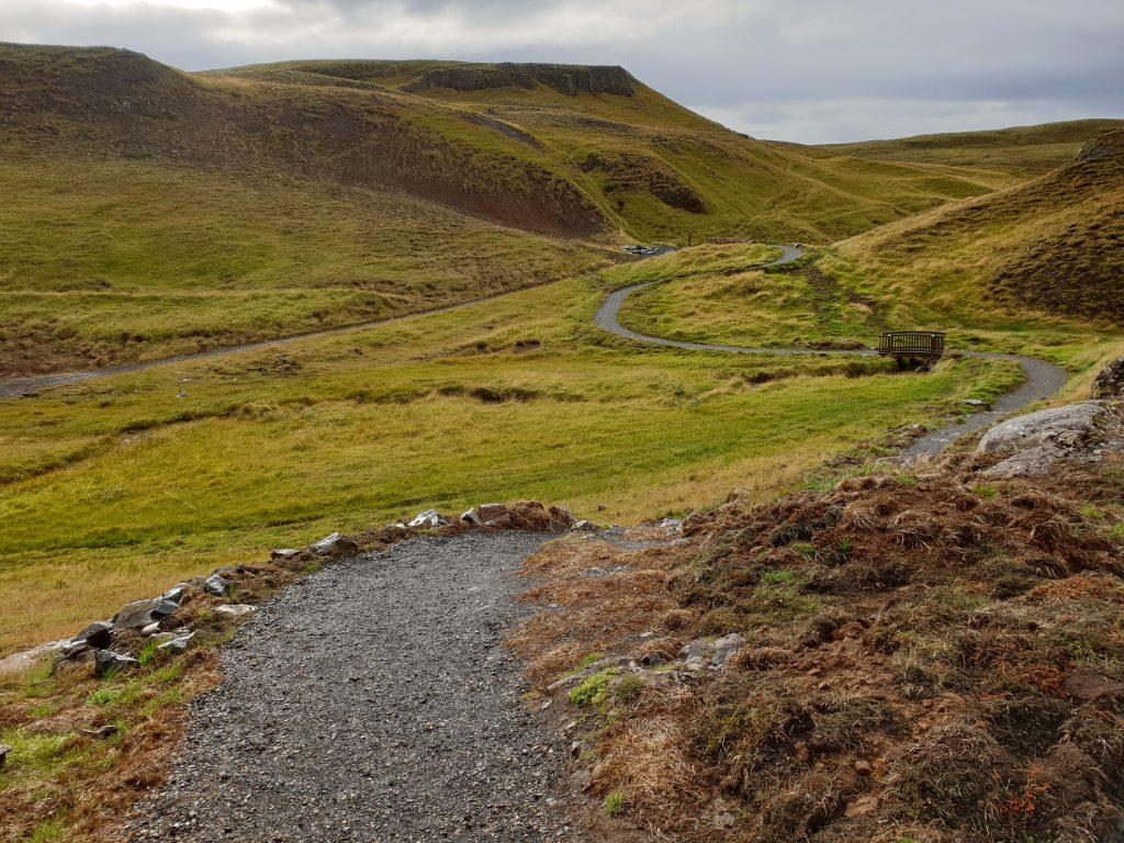 Island - Westisland - Hrunalaug - Hot Spring - Heiße Quelle