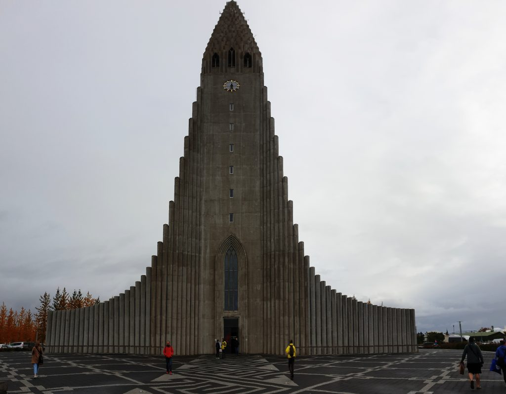 Island - Westisland - Reykjavik - Kirche