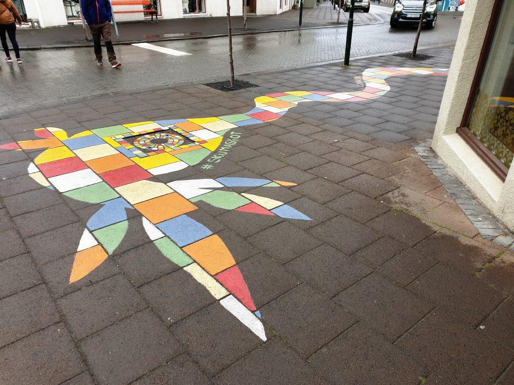 Island - Westisland - Reykjavik - Streetart