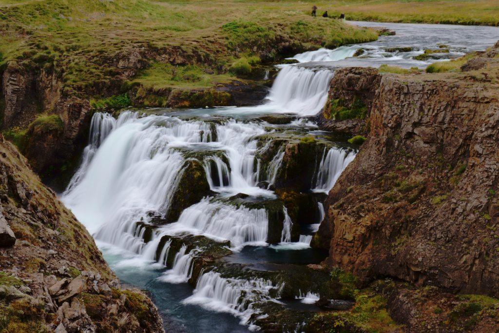Island - Nordsland - Reykjafoss - Wasserfall