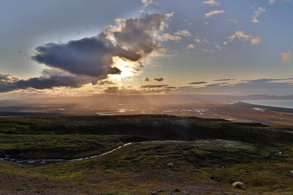 Island - Ostisland - Borgarfjördur - Ausblick