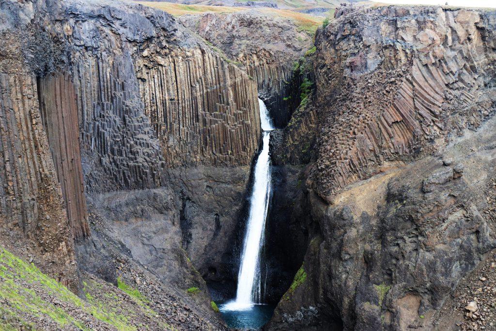 Island - Ostisland - Litlanesfoss - Wasserfall
