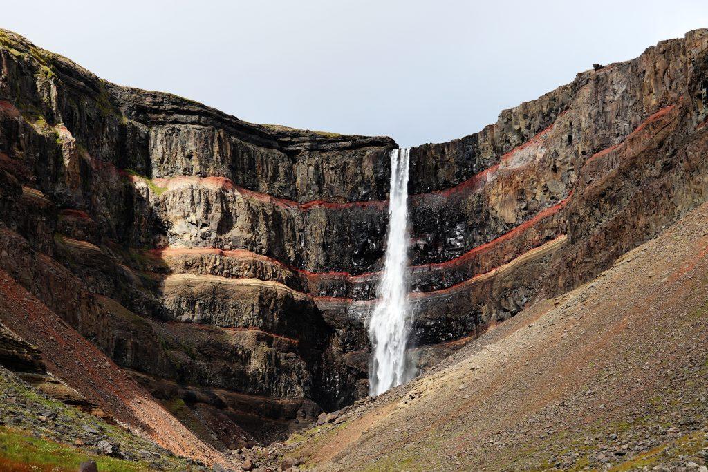 Island - Ostisland - Hengifoss - Wasserfall