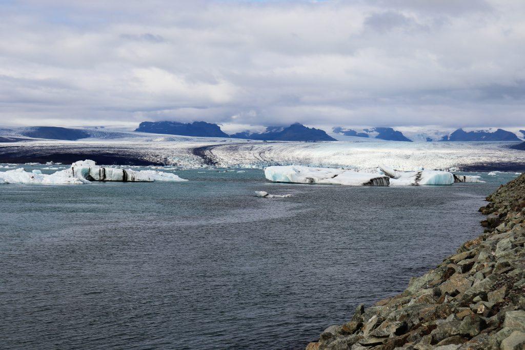 Island - Westisland - Diamond Beach Glacier - Gletscher