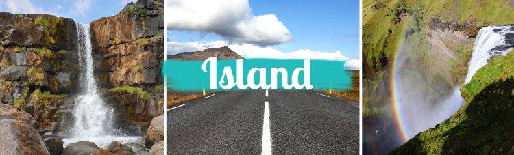 Titelbild - Island - Startseite - mit Text