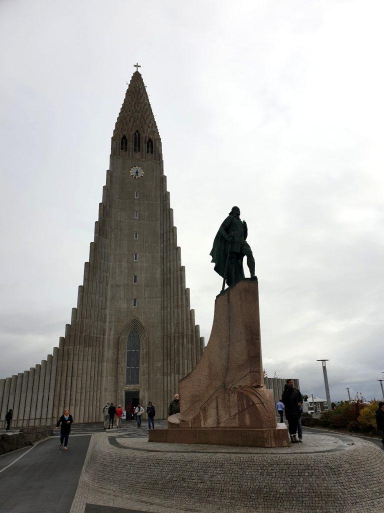Island - Sehenswürdigkeiten Hauptstadtgebiet - Hallgrimskirche