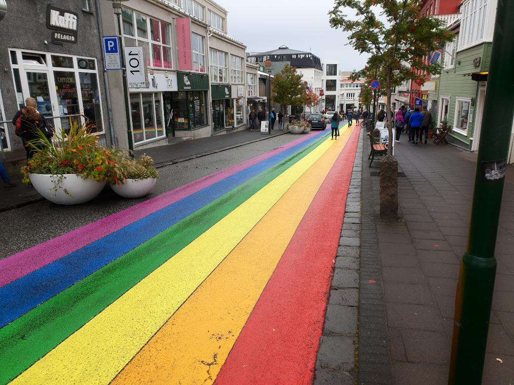 Island - Sehenswürdigkeiten Hauptstadtgebiet - Regenbogenstraße