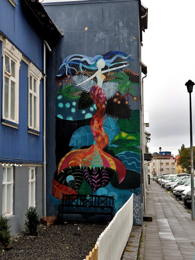 Island - Sehenswürdigkeiten Hauptstadtgebiet - Streetart