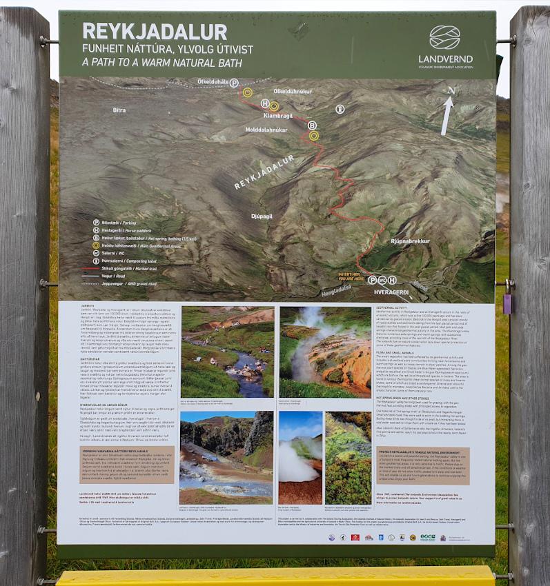 Island - Sehenswürdigkeiten Hauptstadtgebiet - Reykjadalur