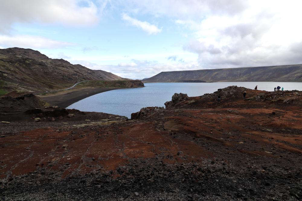 Island - Sehenswürdigkeiten Hauptstadtgebiet - Kleifarvatn Lake