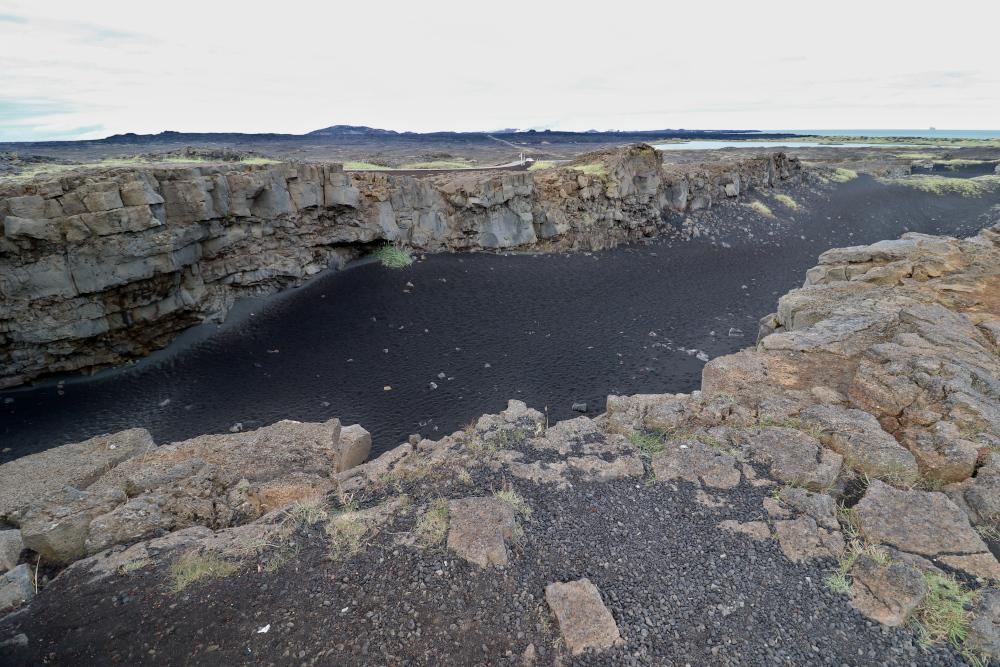Island - Sehenswürdigkeiten Hauptstadtgebiet - Kontinentalplatten
