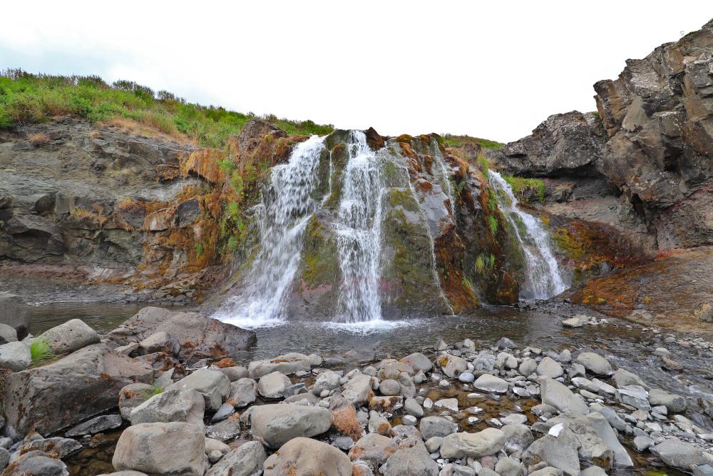 Island - Sehenswürdigkeiten Hauptstadtgebiet - Fossarett Wasserfall