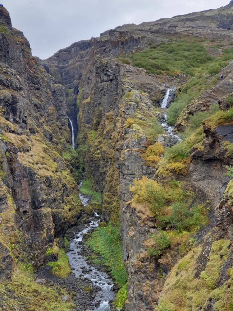 Island - Sehenswürdigkeiten Hauptstadtgebiet - Glymur Wasserfälle
