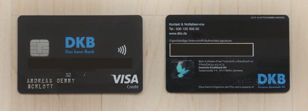 Kreditkartenvergleich - DKB VISA