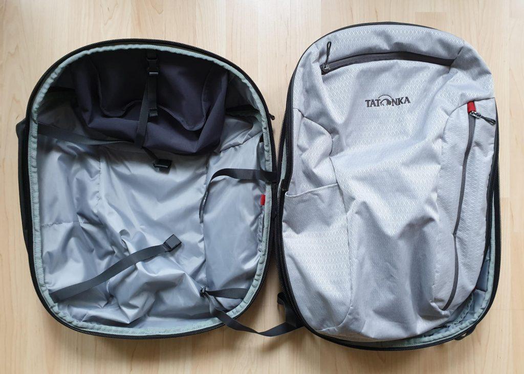 Packliste - Tatonka 2in1 Travel Pack Offen