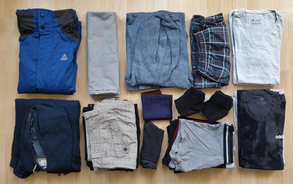 Packliste - Klamotten