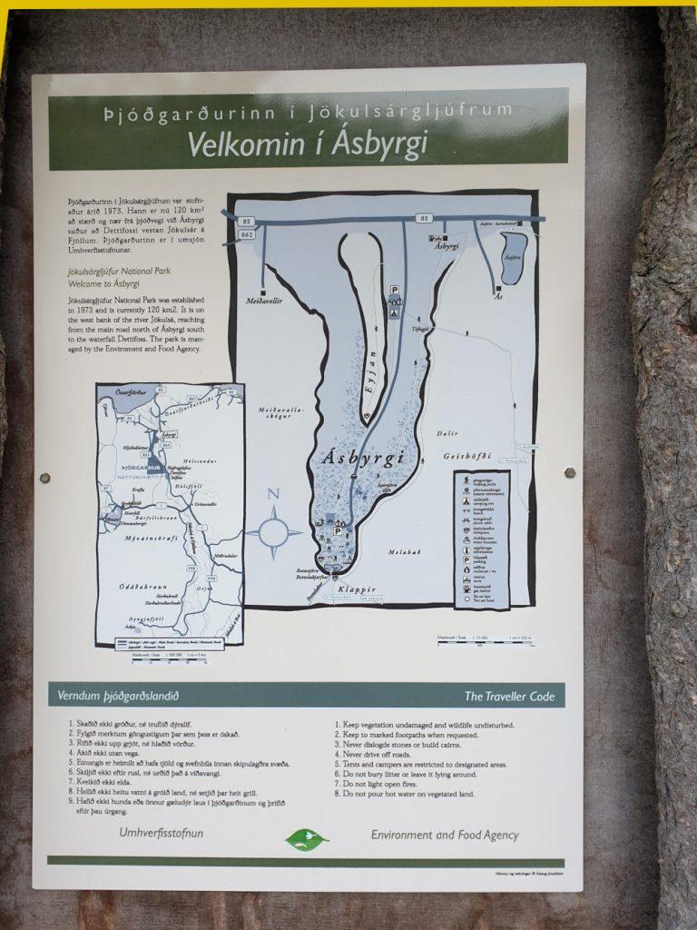 Island - Der Norden - Asbyrgi