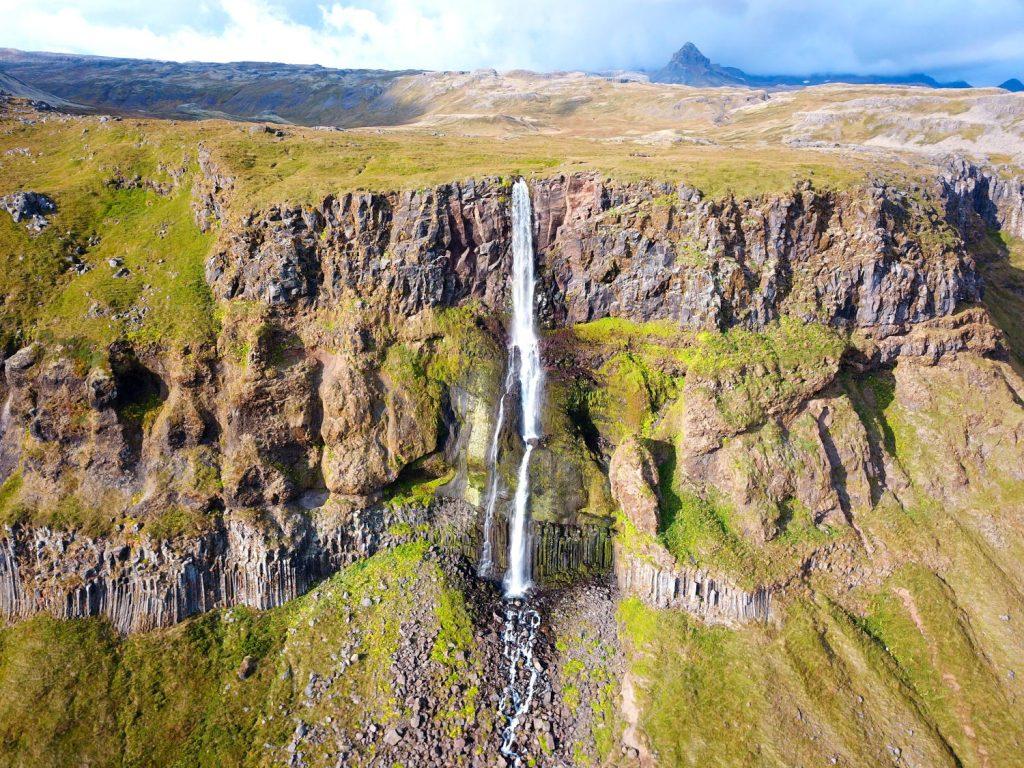 Island - Der Westen - Bjarnarfoss