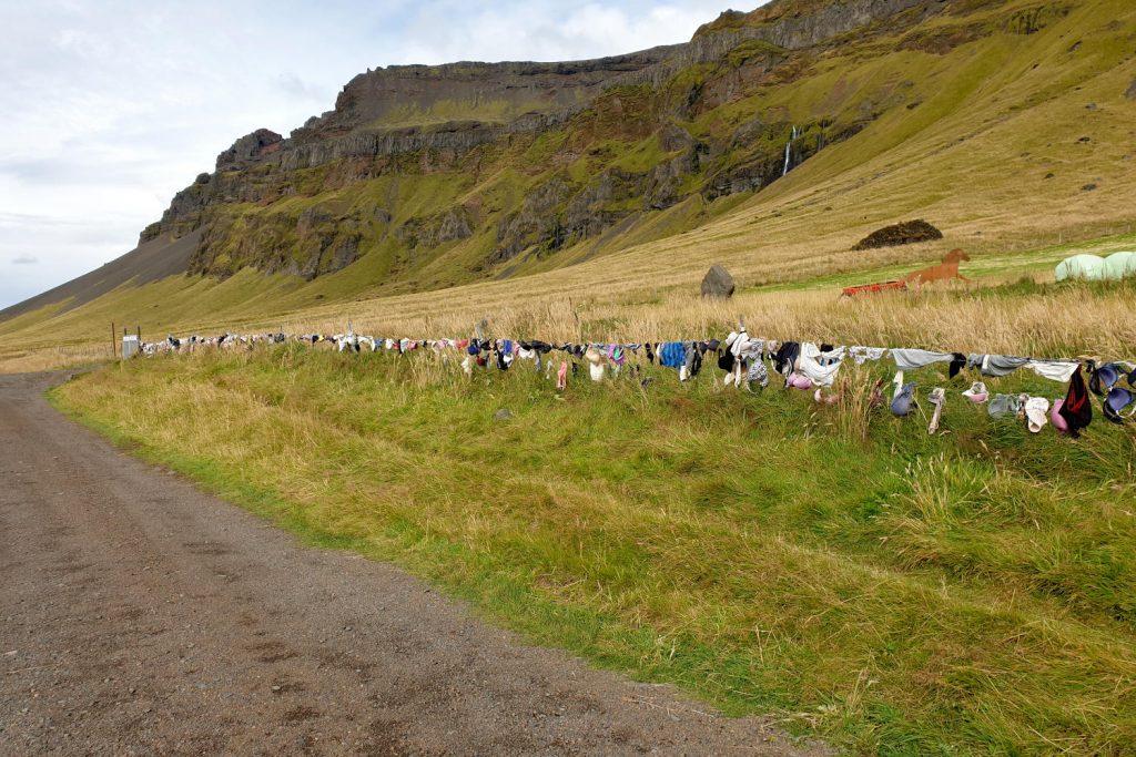 Island - Der Süden - Bra Fence