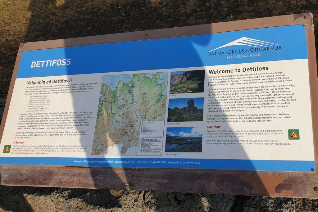 Island - Der Norden - Dettifoss