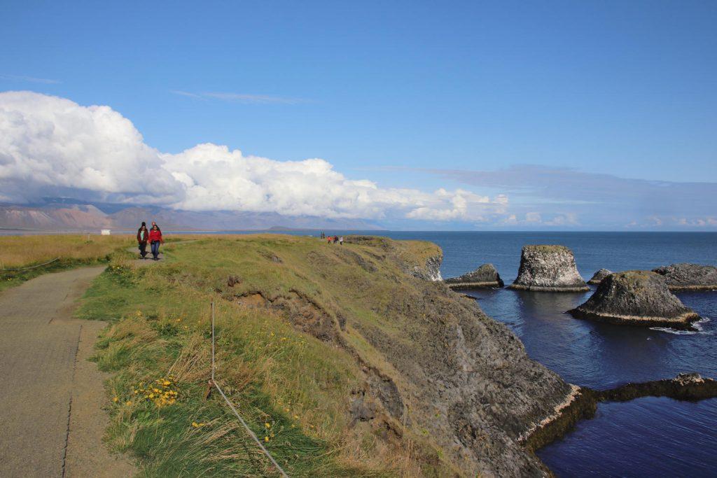 Island - Der Westen - Gatklettur