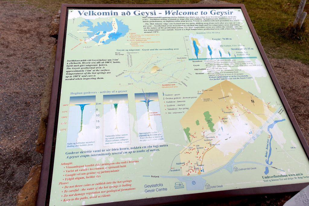 Island - Der Süden - Geysir