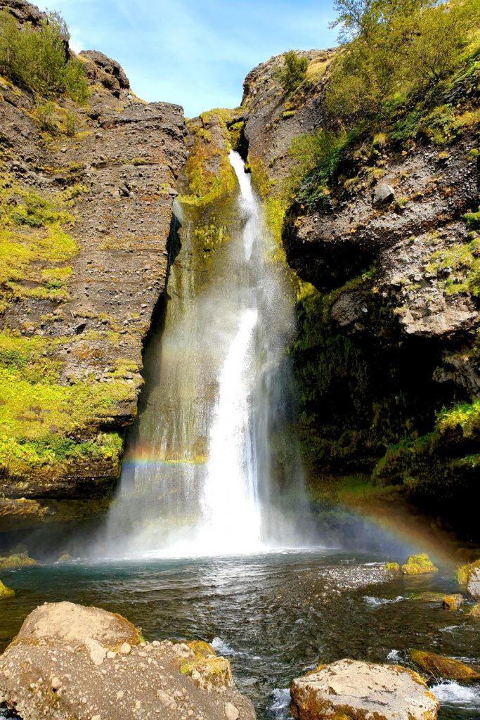 Island - Der Süden - Gluggafoss