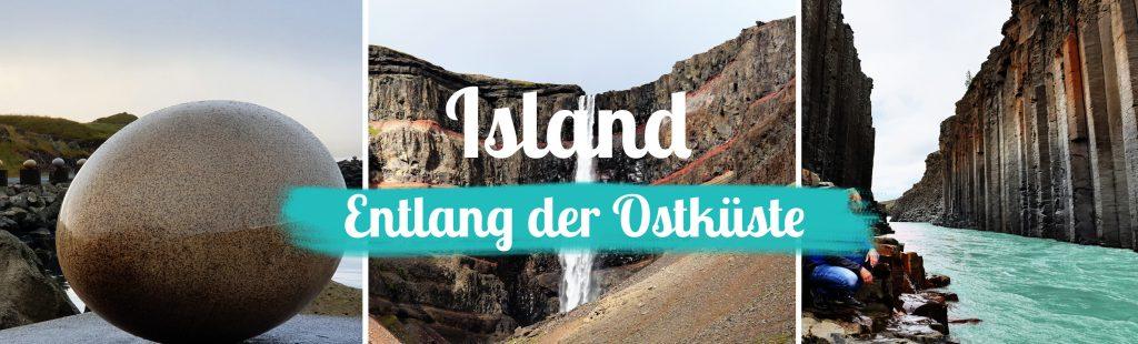 Island - Titelbild - Der Osten - mit Text